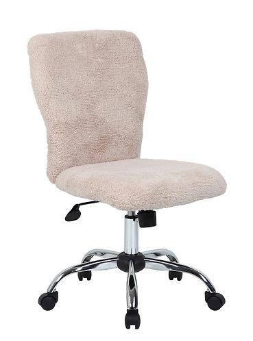 Tiffany Fur Chair-Cream