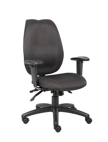 Boss Black High Back Task Chair