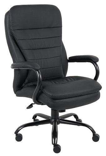 Boss Heavy Duty Double Plush CaressoftPlus Chair - 400 Lbs.