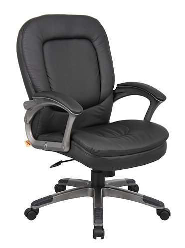 Boss Executive Pillow Top Mid Back Chair
