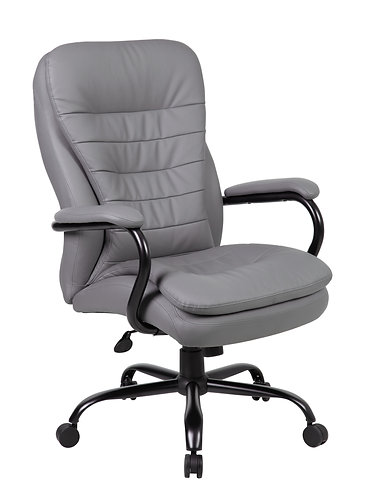 Boss Heavy Duty Double Plush CaressoftPlus Chair - 400 Lbs.