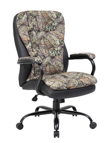 Boss Heavy Duty Double Plush Mossy Oak Chair - 400 Lbs.