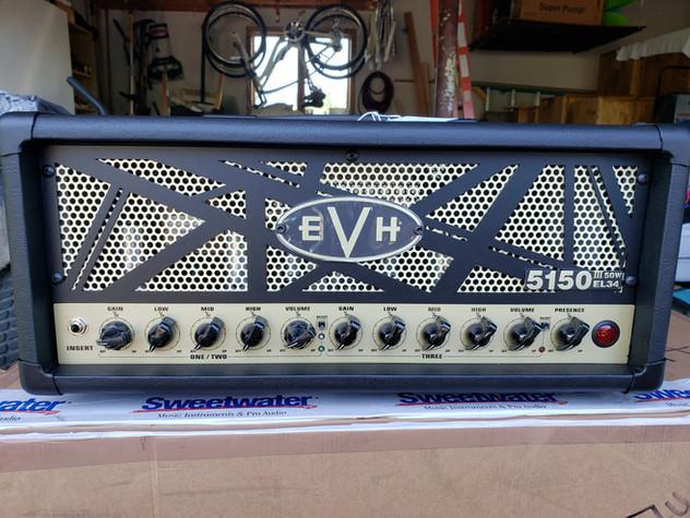 EVH 5150 III 50-watt Head with EL34 Tubes
