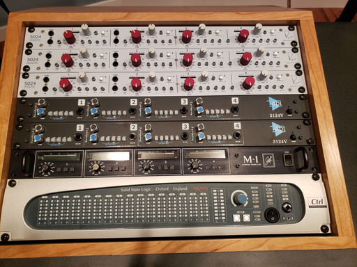 Preamps and SSL Mix Bus