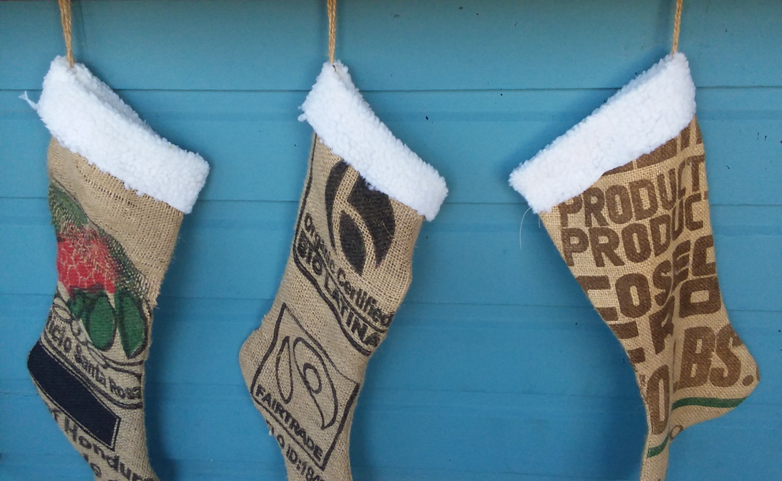 Festive stockings for the holidays
