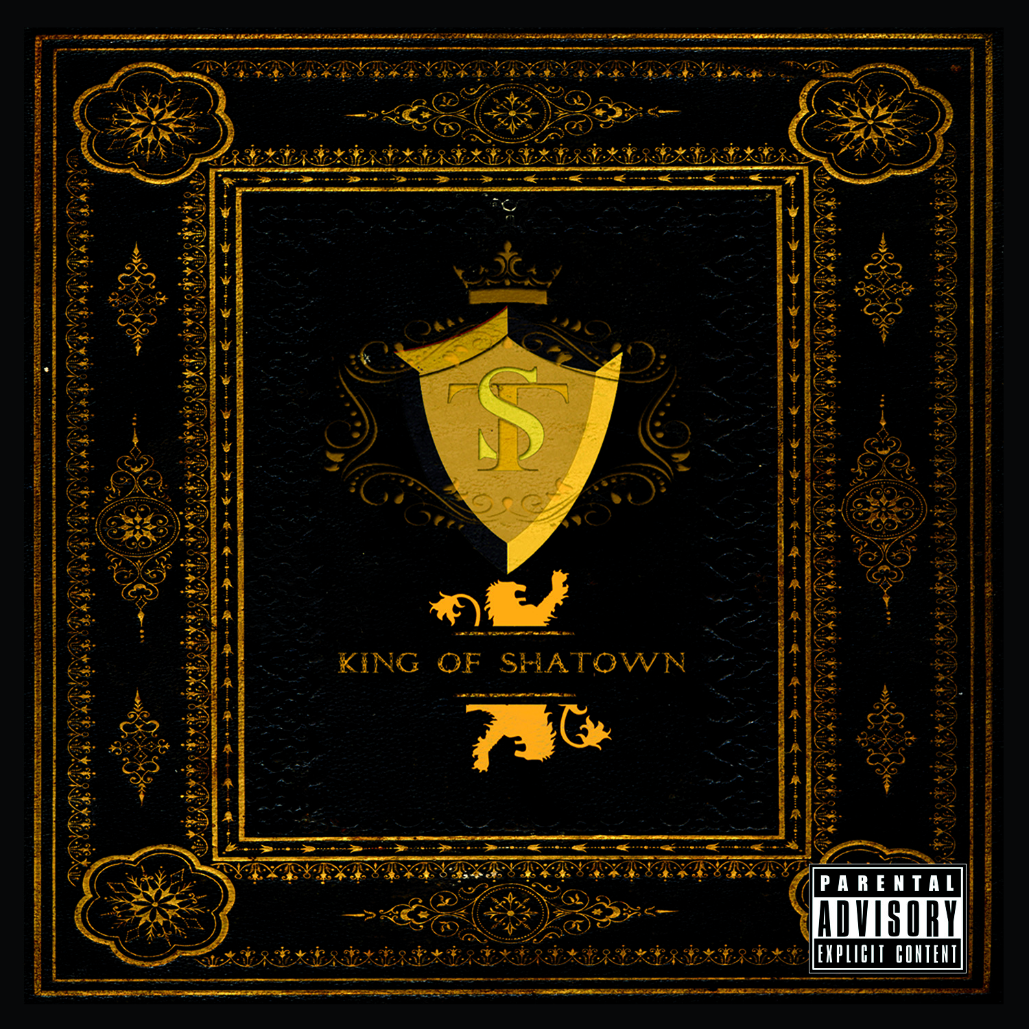Mr.Sha King of Shatown CD cover