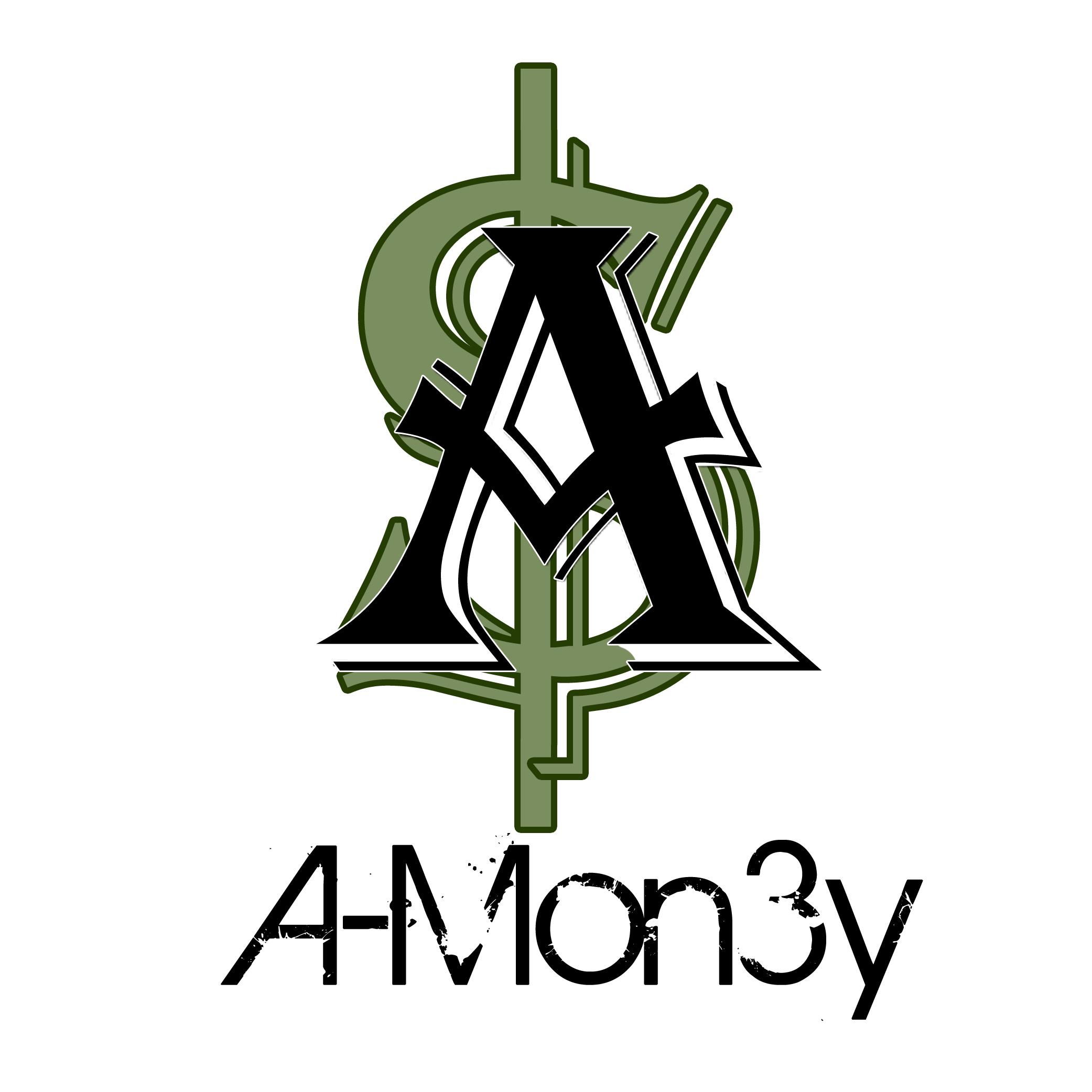 A-Mon3y Logo Design