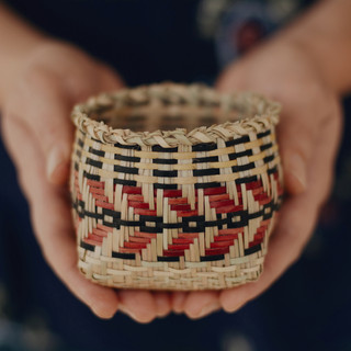 Chitimacha River Cane Basket 1