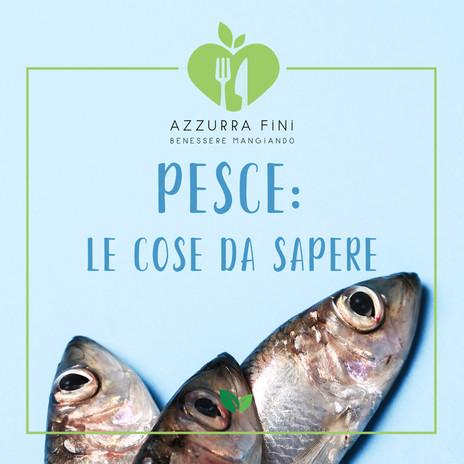 Pesce: le cose da sapere