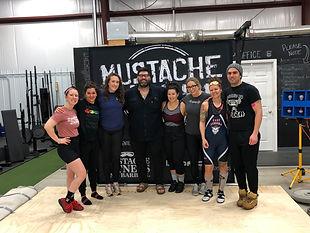 Mustache Mahem Powerlifting Team Mustache Fitness and Barbell Tonowanda New York
