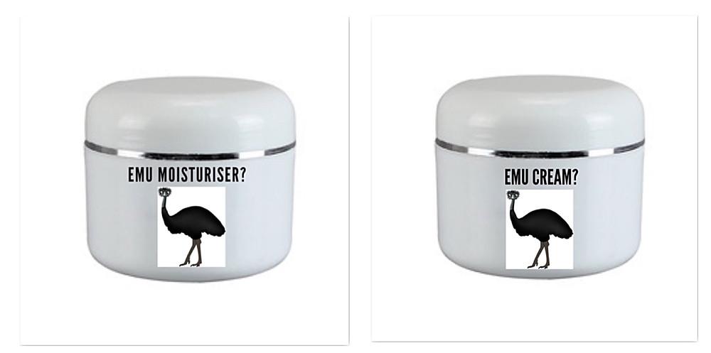 Emu Moisturiser VS. Emu Cream