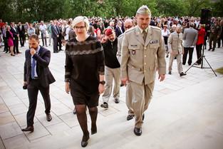 Otevření výstavy - Doteky státnosti (VHÚ, Pražský hrad)
