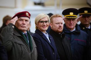 Slavnostní přísaha 900 nových vojáků Armády ČR a nastupujících studentů Univerzity obrany