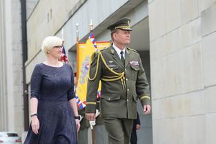 Slavnostní ceremoniál předání a převzetí funkce NGŠ AČR
