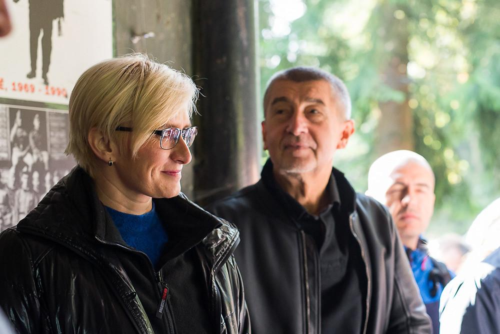 Karla Šlechtová, Andrej Babiš