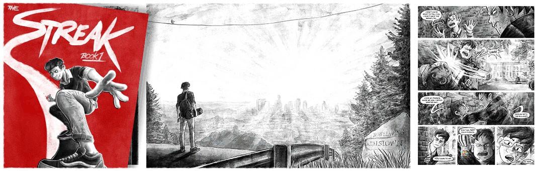 'The Streak' Graphic Novel