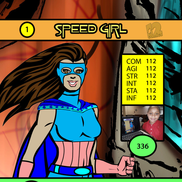 Byinah Speedgirl Card