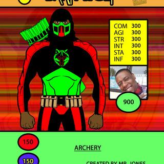Mr Jones Dark Wolf Card
