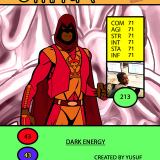 Yusuf Night Shadow Card