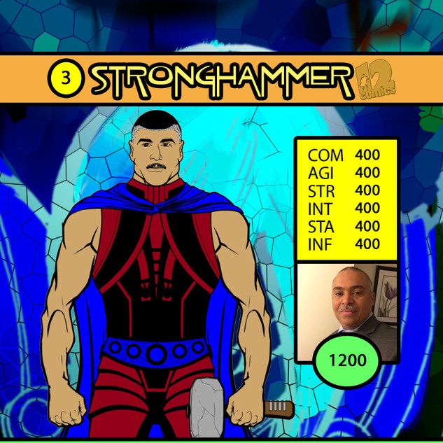 Mr Rodriguez Stronghammer Card