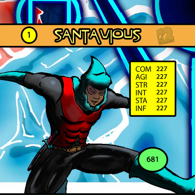 Savion Santavious Card