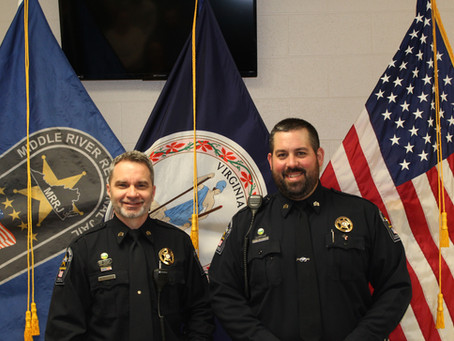New Sergeant Promotions!