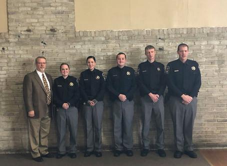 Recent Jail Officer Graduates
