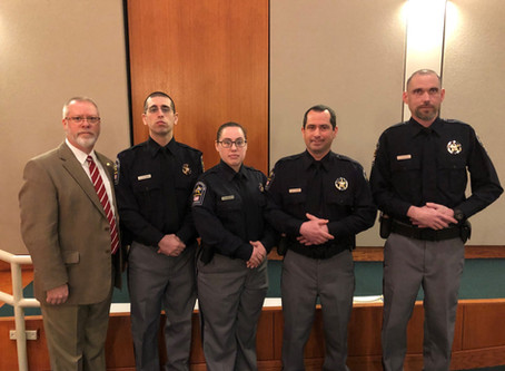 Graduates of the Central Shenandoah Criminal Justice Training Academy