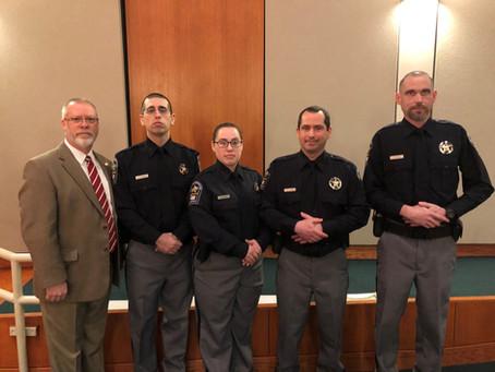 Graduates of the Central Shenandoah Criminal Justice Training Academy