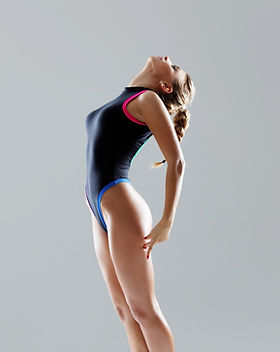 Girl in Leotard