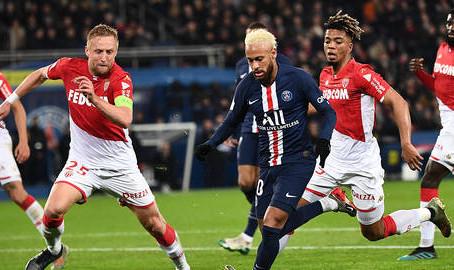 Monaco met en échec le PSG au Parc !
