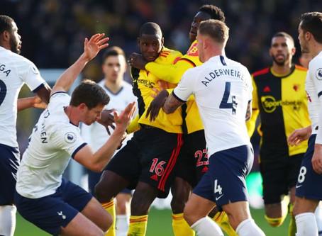 Tottenham accroché et muet à Watford