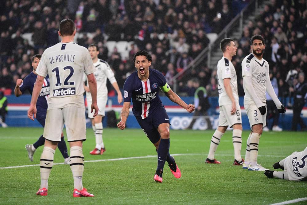Resume PSG Bordeaux Ligue 1 4-3