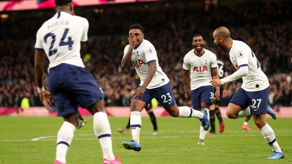 Tottenham Manchester City Premier League 2-0