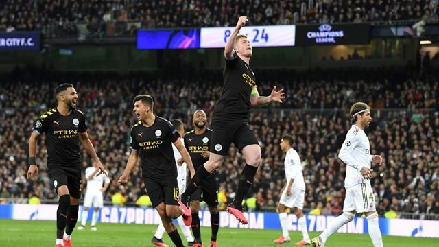 Resume Real Madrid Manchester City Ligue des Champions 1-2