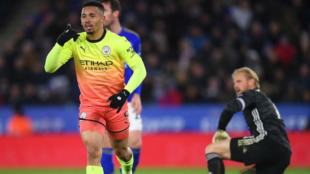 Resume Leicester Manchester City 0-1 Premier League