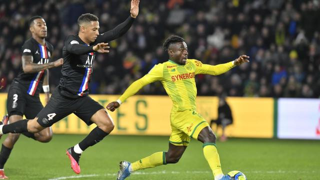 Nantes PSG Ligue 1 1-2