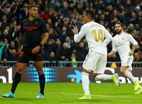 Doublé de Casemiro pour une victoire du Real Madrid