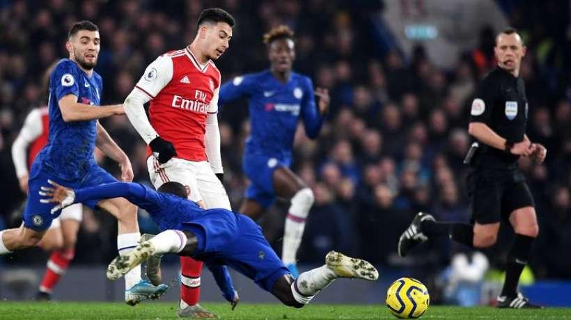 Chelsea Arsenal Premier League 2-2