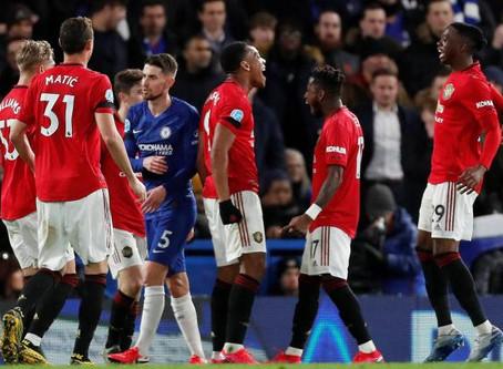 Chelsea perd gros face à Manchester United