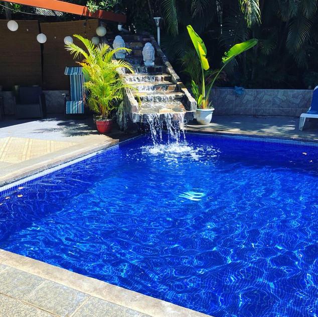 Catarata piscina