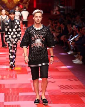 Dolce & Gabbana show during Milan Men's Fashion Week Spring 2017