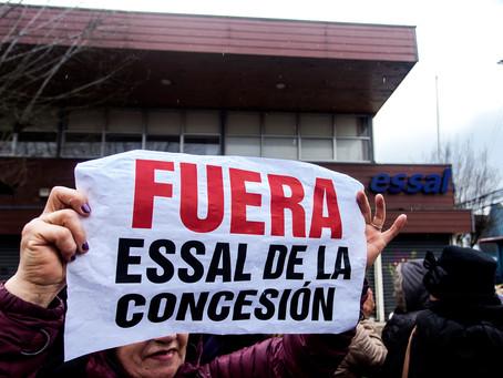 """Suez pide """"inmediata suspensión"""" de proceso de caducidad contra Essal por prolongado corte en Osorno"""