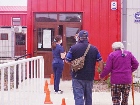 En 8 recintos se está realizando el proceso de vacunación contra el Covid19 en Frutillar