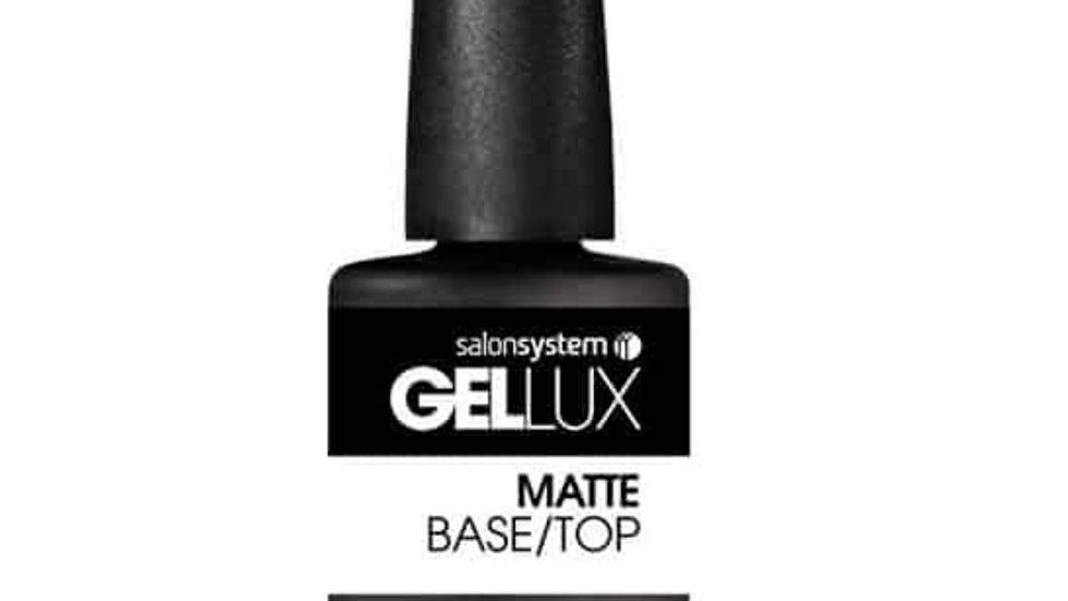 Gellux Matte Base/Top Coat