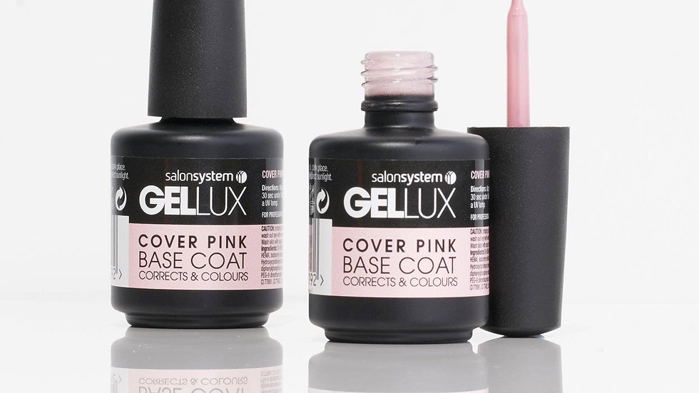 Gellux Cover Pink Base Coat