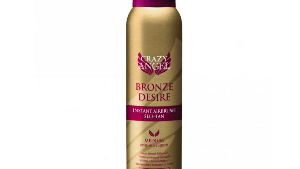 Crazy Angel Bronze Desire Instant Airbrush Tan Spray 200ml