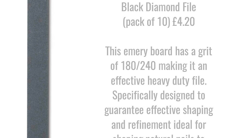 Black Diamond File 180/240 grit (pack of 10)