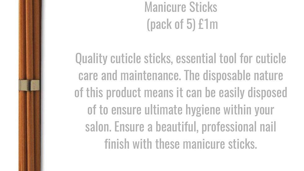 Glitz & Glamour Manicure Sticks