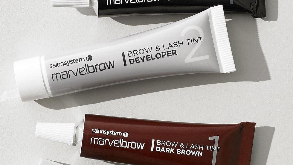 Marvelbrow - 2step lash&brow tinting process